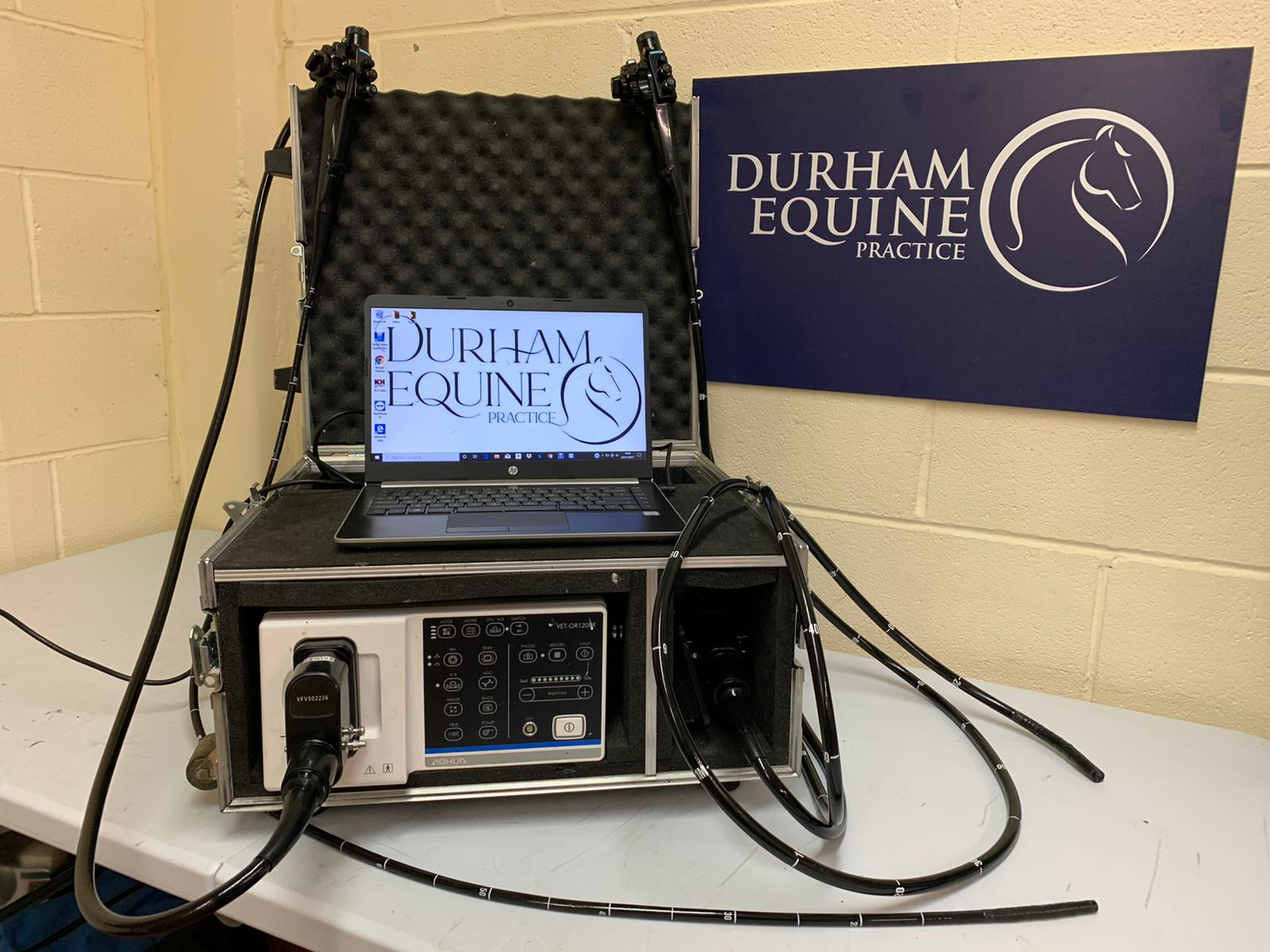 Endoscopy Scope - Durham Equine Practice